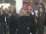 Iraqi Man Reunites With Fiancee Who Was Detained At JFK