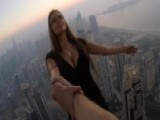 Instagram Model Survives Dubai Skyscraper Photo Shoot Stunt
