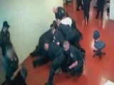Inmate Takes On A Dozen Deputies In Wild Jailhouse Brawl