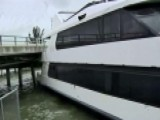 Irma Pushes Dinner Yacht Into Bridge In Florida
