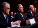 Intelligence Community To Testify On Worldwide Threats