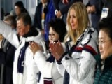 Ivanka Trump Stands For Korean Team At Olympic Close