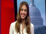 Jessica Alba Takes On Toxins
