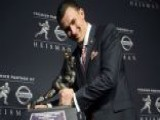 Johnny Manziel Wins The Heisman