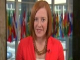 Jen Psaki: 'We Sent A Strong Message Today'