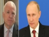 John McCain Urges Congressional Action To Punish Russia