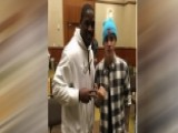 Justin Bieber Crashes Pittsburgh Steelers Bible Study