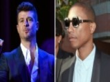Jury Rules Robin Thicke, Pharrell Copied Marvin Gaye Song