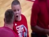 J.J. Watt Surprises Boy Who Sang National Anthem At NBA Game