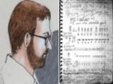 Jury In Movie Massacre Trial Sees Journal Of James Holmes