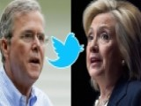 Jeb Bush, Hillary Clinton Trade Tweets Over American Workers