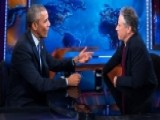 Jon Stewart's Secret Obama Meetings