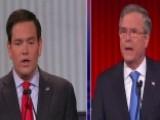 Jeb Bush And Marco Rubio Spar Over Immigration Reform