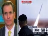 John Kirby Calls On North Korea To Stop 'reckless Behavior'