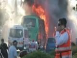 Jerusalem Rocked By Fiery Bus Explosion