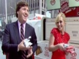 Jane Krakowski Shares Joy, Free Ice Cream With New Yorkers