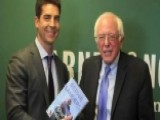 Jesse Watters Finds Trouble At Bernie Sanders Book Signing
