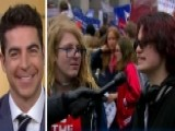 Jesse Watters Reacts To Students' Anti-Trump Activism