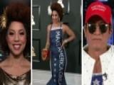 Joy Villa, Andre Soriano Talk Pro-Trump Grammy's Dress