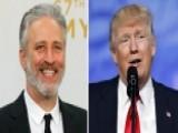 Jon Stewart To Media- Stop Trump Obsession