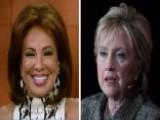 Judge Jeanine: Return Of Loser Clinton Should Be Celebrated