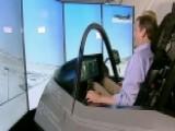 Jon Scott Takes F-35 Flight Simulator For A Spin