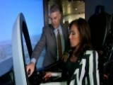 Judge Jeanine Tries The F-35 Cockpit Simulator