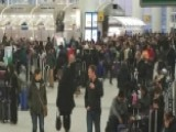 JFK Flight Backlog After Winter Storm Causes Major Delays