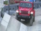 Jeep Tackles Obstacle Course At New York Auto Show