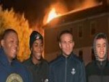 Junior ROTC Members Rescue Families From Apartment Fire