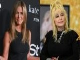 Jennifer Aniston Reacts To Dolly Parton's Threesome Comments