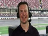 Kurt Busch Channels Ricky Bobby At Talladega