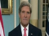 Kerry Defends Decision To Wait For Congress On Syria