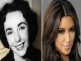 Kim Kardashian Thinks She's Liz Taylor