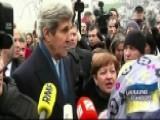Kerry Reaffirms Support In Ukraine