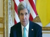 Kerry, Russian Foreign Minister To Meet On Ukraine Crisis