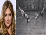 Kate Upton Learns Trapeze
