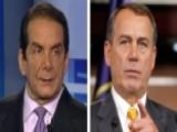 Krauthammer's Take: Obama-Boehner Netanyahu Invite Dustup