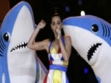 Katy Perry Dances With Sharks