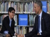 Kid Moderator To Obama: Wrap It Up, Mr. President