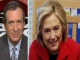 Kurtz: Hillary's Stock Downgraded
