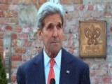 Kerry: US Not Going To Sit At The Negotiating Table Forever