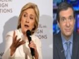 Kurtz: Hillary Clinton's Terror Dilemma