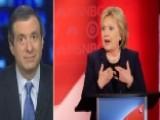 Kurtz: Hillary Stops Hiding From Debates