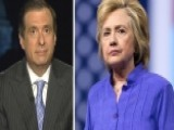 Kurtz: Clinton Has 'rare Week' Of Difficult Scrutiny