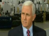 Kristin Fisher's Full Interview With Vice President Pence