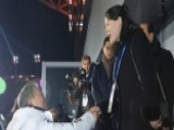 Kim Jong Un's Sister Shakes Hands With SKorea At Olympics