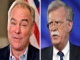 Kaine: Bolton May Have Problems Getting Security Clearance