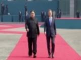 Kim Jong Un Crosses Into South Korea