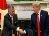King Abdullah And Trump Meet, Discuss Peace Process
